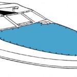 Bow tonneau cover